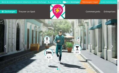 Site internet de Zecharger