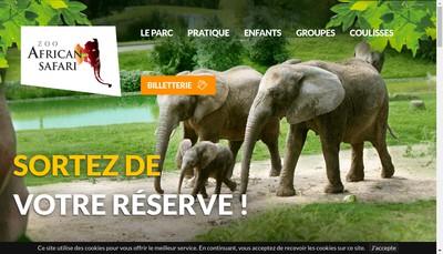 Site internet de Parc Zoologique de Plaisance du Touch