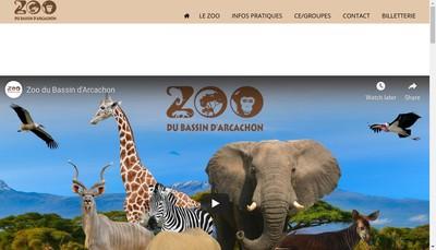 Site internet de Zooland-Park du Bassin d'Arcachon