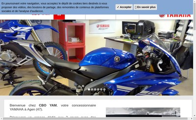 Site internet de Moto Service