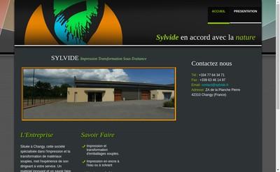 Site internet de Sylvide