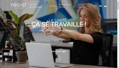 Site internet de YOGIST