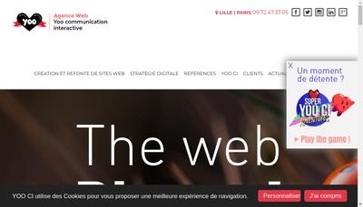 Site internet de Yoo Ci
