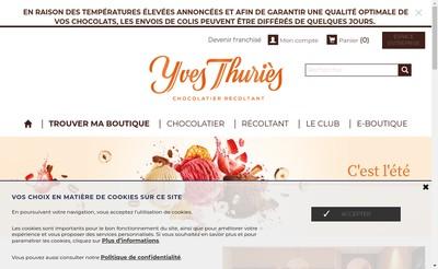 Site internet de L'Artisan du Chocolat