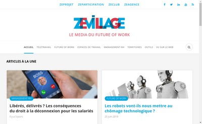 Site internet de Zevillage