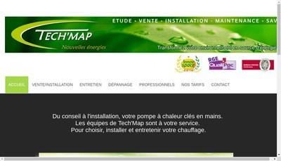Site internet de Tech Map