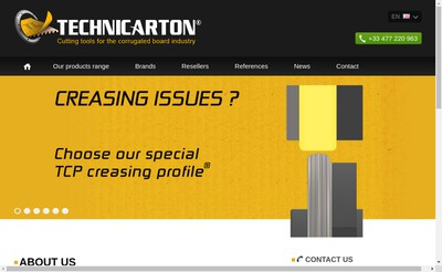Site internet de Technicarton