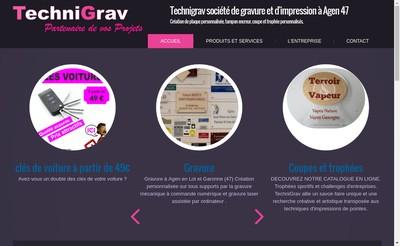 Site internet de Technigrav