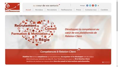 Site internet de Teleressources