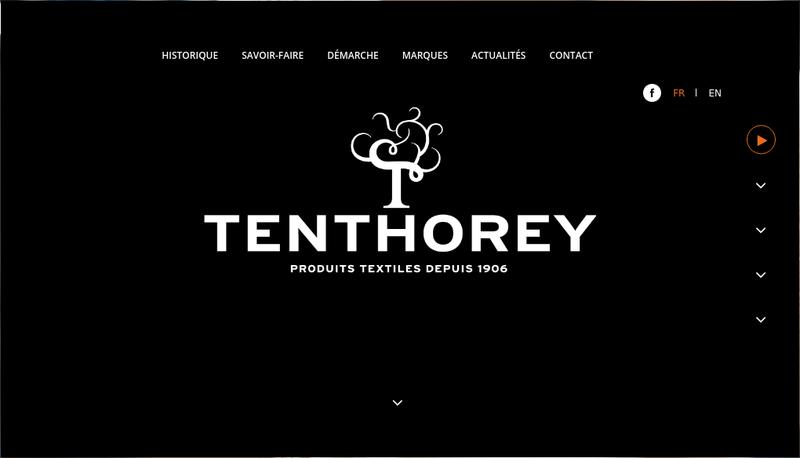 Capture d'écran du site de Tenthorey