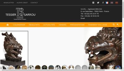 Site internet de Tessier Sarrou & Associes