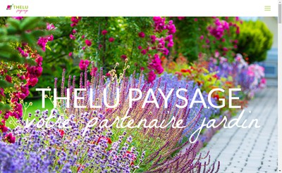 Site internet de Thelu Paysage