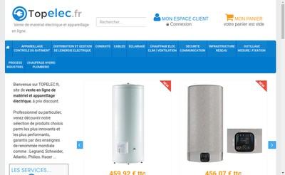 Site internet de Topelec