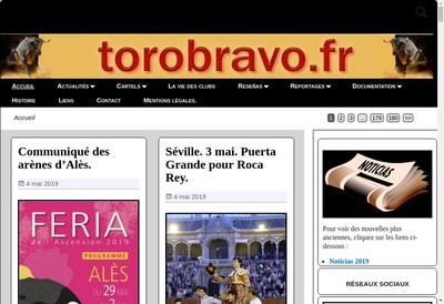 Site internet de Toro Bravo