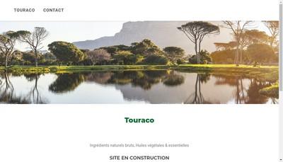 Site internet de Touraco SARL