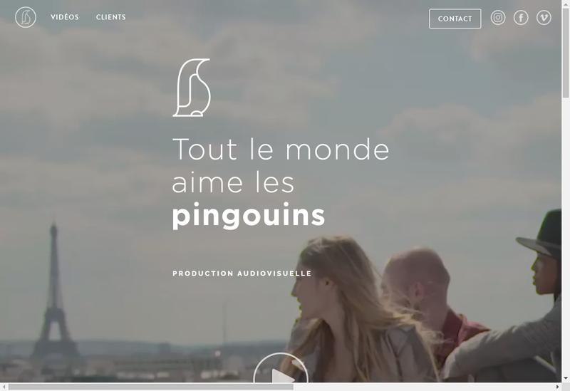 Capture d'écran du site de Tlmalp - Tout le Monde Aime les Pingouins