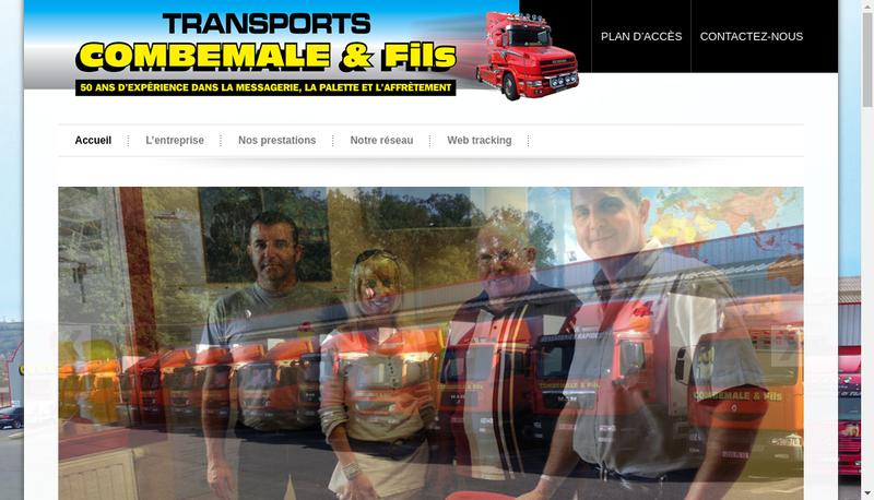 Capture d'écran du site de Transports Ruthenois