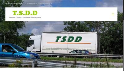Site internet de Trans Stock Distribution et Demenagement