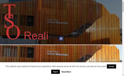 Site internet de Tso - Reali