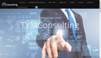 Site internet de Tym Consulting