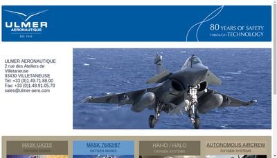 Site internet de Ulmer Aeronautique
