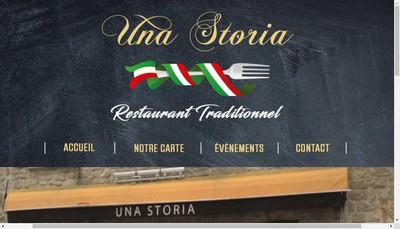 Site internet de Una Storia