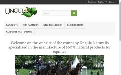 Site internet de Ungula Naturalis