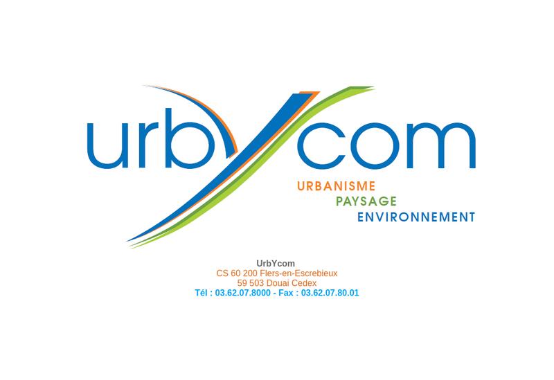 Capture d'écran du site de Urbycom Amenagement et Urbanisme