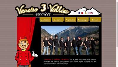 Site internet de Conciergerie des Cimes