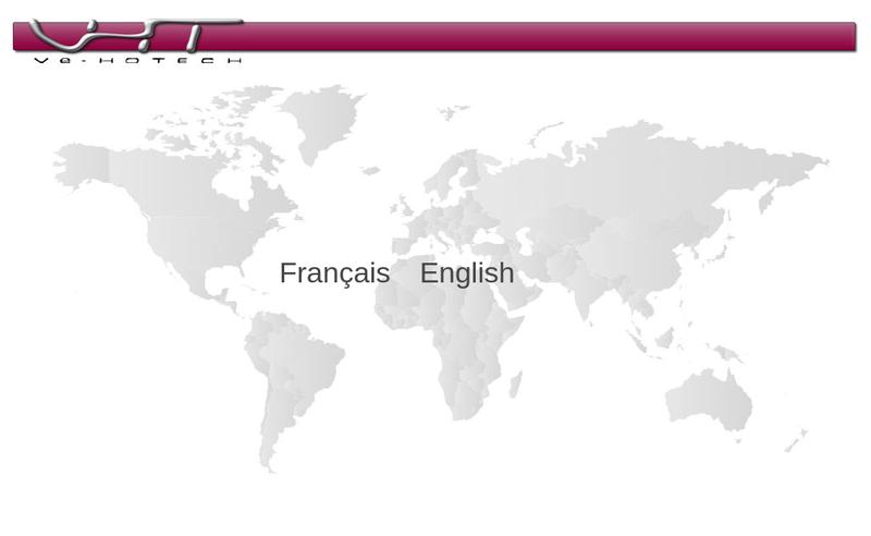 Capture d'écran du site de Ve Hotech