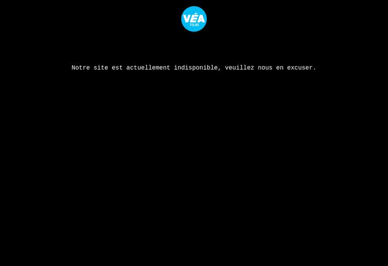 Capture d'écran du site de Vea Films