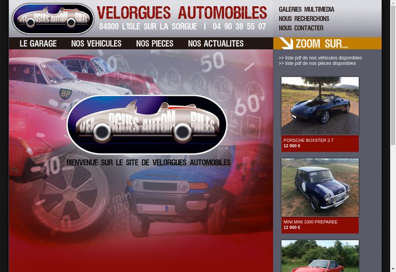 Capture d'écran du site de Speedy Lavage