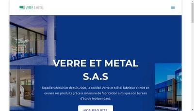 Site internet de Verre et Métal
