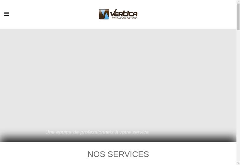 Capture d'écran du site de Vertica