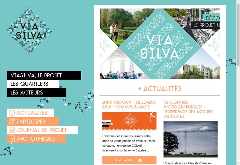 Capture d'écran du site de Spla Viasilva