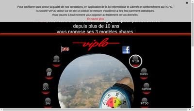 Site internet de Viplo