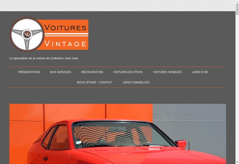 Capture d'écran du site de Nd Automobiles
