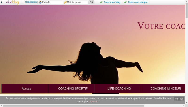 Capture d'écran du site de Jean Rubalo