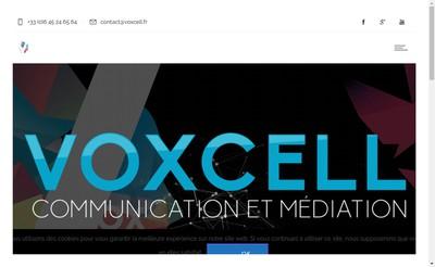 Site internet de Voxcell