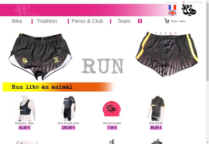 Capture d'écran du site de Claude Hacen