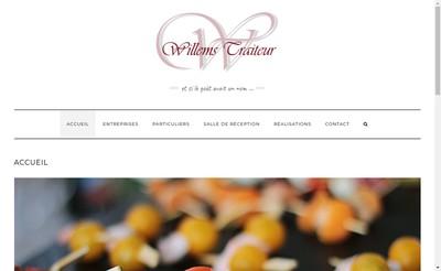 Site internet de Willems Traiteur SAS
