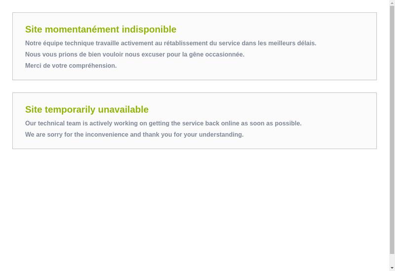 Capture d'écran du site de Adc-Soft