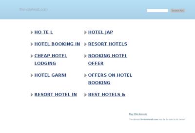 Capture d'écran du site de Hote l'Partner