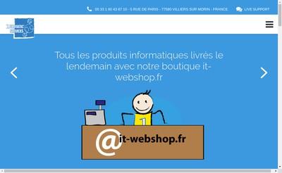 Site internet de 1Formatic'Services