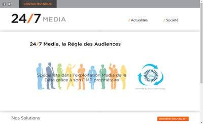 Site internet de Real Media