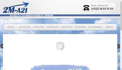 Capture d'écran du site de Graphicom