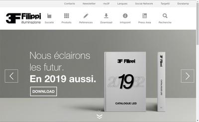 Site internet de 3F Filippi France