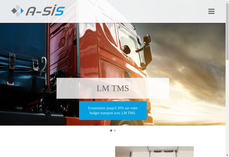 Capture d'écran du site de A-Sis (Et Ou) Logarithme