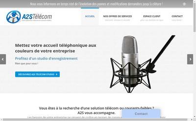 Site internet de A2S Telecom