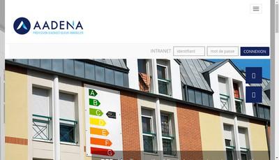 Site internet de Aadena